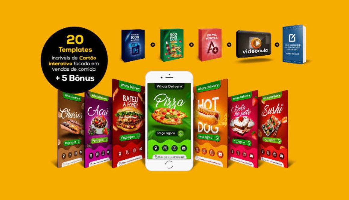 20-templates-de-cartao-interativo-focado-em-comida